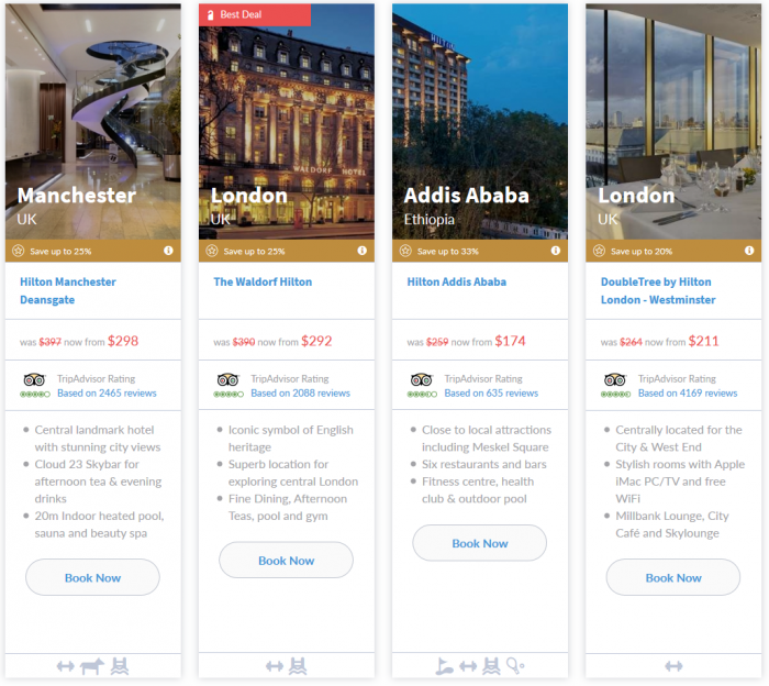NOW LIVE Hilton Europe Middle East Africa 7-Day Up To 33 Percent Off Flash Sale March 16 - 22 2015 4