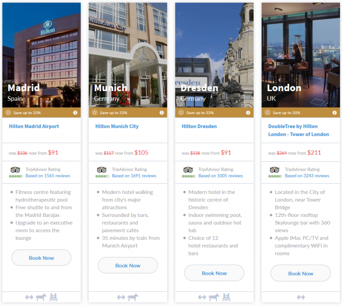 NOW LIVE Hilton Europe Middle East Africa 7-Day Up To 33 Percent Off Flash Sale March 16 - 22 2015 6