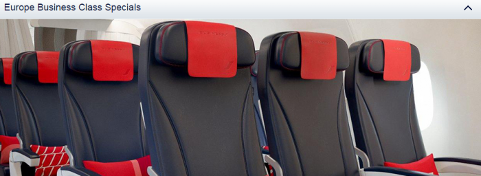 Air France-KLM Flying Blue Promo Awards May 2015 Europe Business Specials
