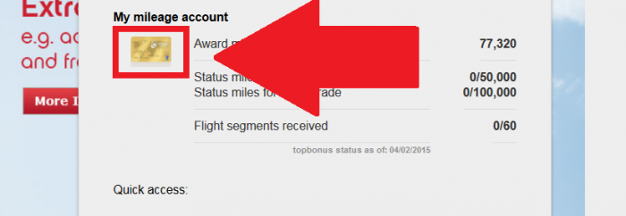 Airberlin Topbonus Status Match Update Online