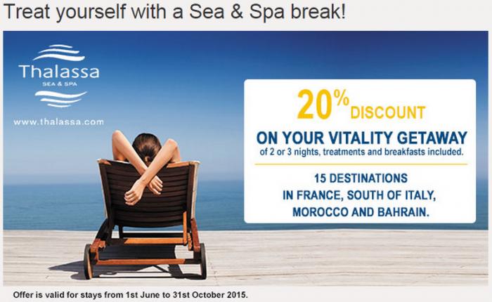 Le Club Accorhotels Private Sales April 2015 Thalassa