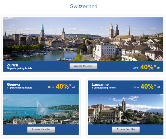 Le Club Accorhotels Weekly Sales April 1 2015 Switzerland 1