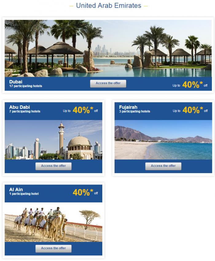 Le Club Accorhotels Weekly Sales April 1 2015 United Arab Emirates 1
