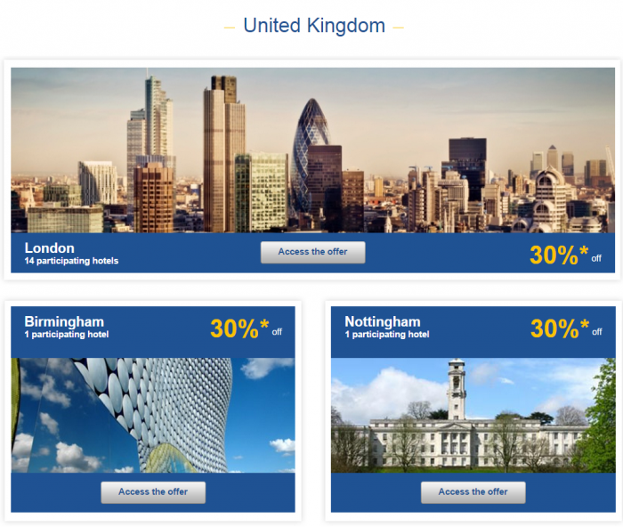 Le Club Accorhotels Weekly Sales April 7 UK 1