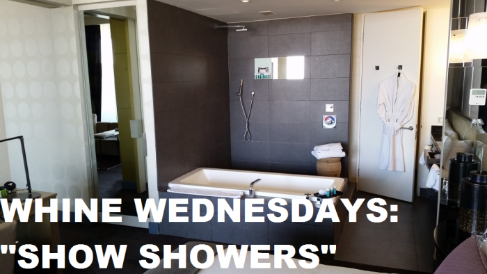 Whine Wednesdays Show Showers