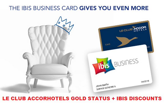 Le Club Accorhotels Ibis Business Card