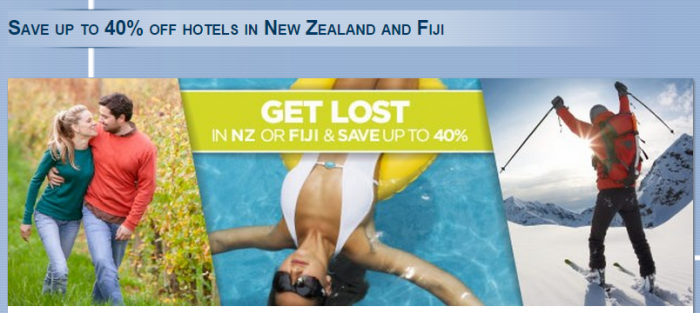 Le Club Accorhotels New Zealand Fiji Up To 40 Percent Off Sale For Stays May 14 - September 30 2015