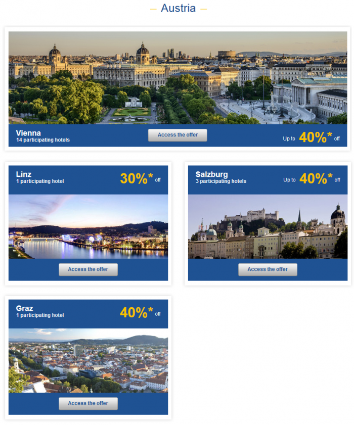 Le Club Accorhotels Private Sales May 12 - 19 2015 Austria 1