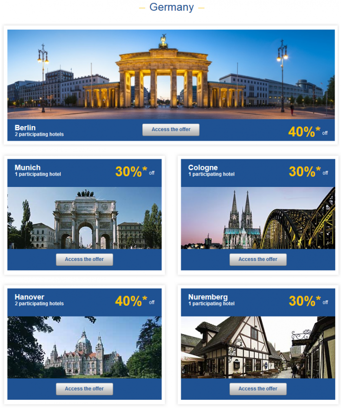 Le Club Accorhotels Private Sales May 19 - 16 2015 Germany 1