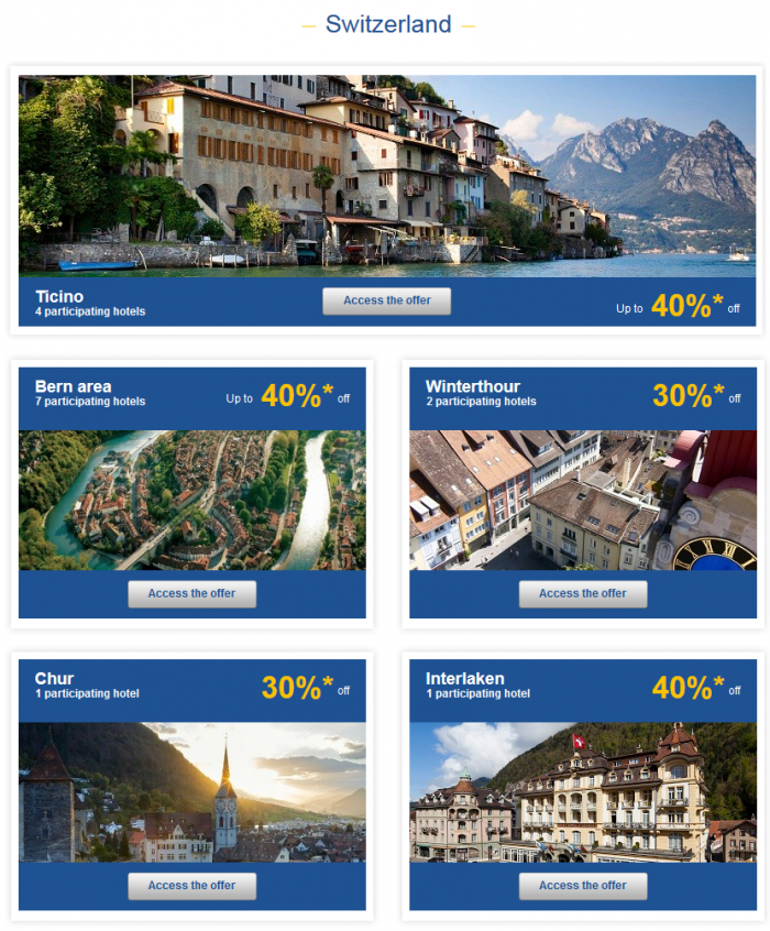 Le Club Accorhotels Private Sales May 19 - 16 2015 Switzerland 1