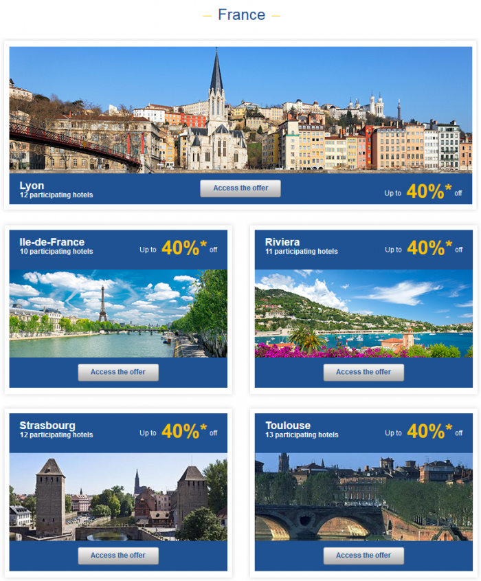 Le Club Accorhotels Private Sales May 26 - June 1 2015 France 1