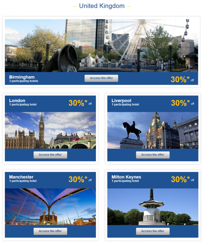 Le Club Accorhotels Private Sales May 26 - June 1 2015 UK 1