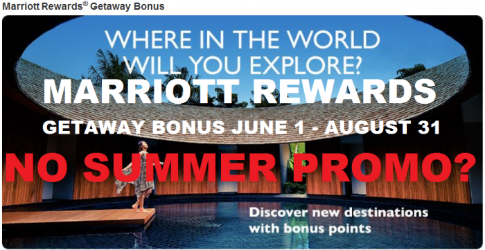 Marriott Rewards 2015 Summer Promotion