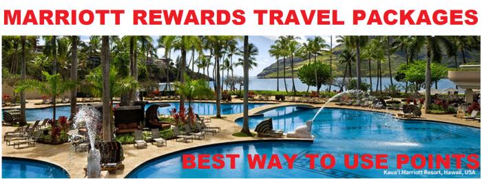 Marriott Rewards Travel Package