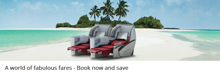 Qatar Airways Companions Fare May 2015 Sale