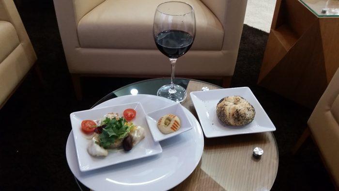 Alitalia Etihad Expo Milano 2015 Premium Lounge Appertizer
