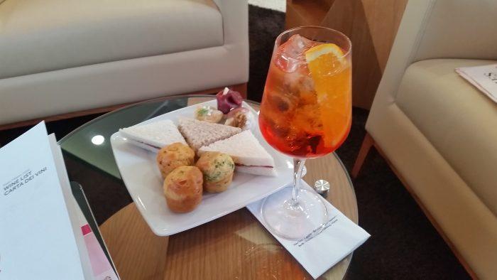 Alitalia Etihad Expo Milano 2015 Premium Lounge Canapes