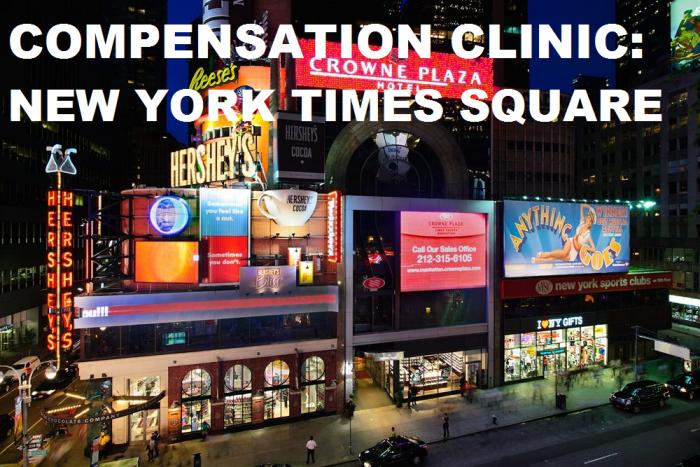 Compensation Crowne Plaza New York Times Square U