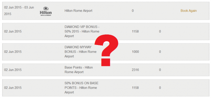 Hilton Double Your HHonors Now Posting Correctly Hilton Rome Airport