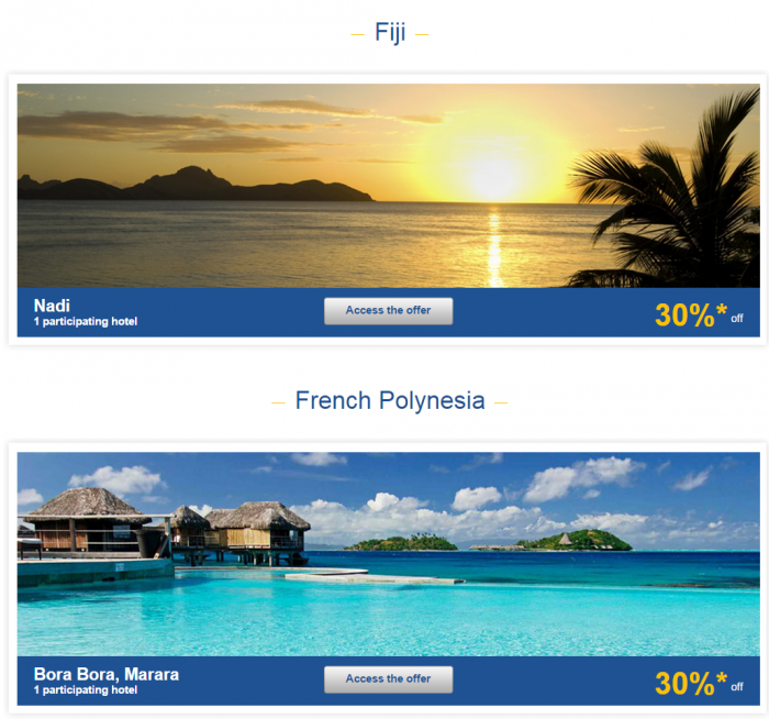 Le Club Accorhotels Asia-Pacific Private Sales June 6 New Fiji & French Polynesia 1