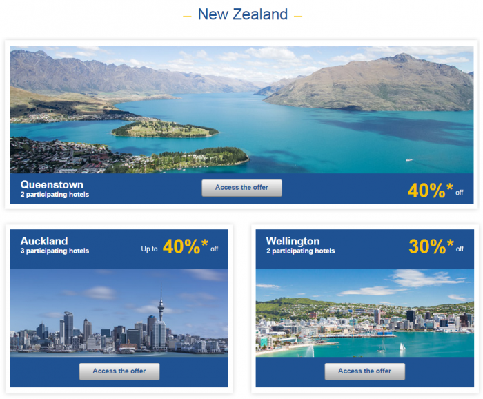 Le Club Accorhotels Asia-Pacific Private Sales June 6 New Zealand 1