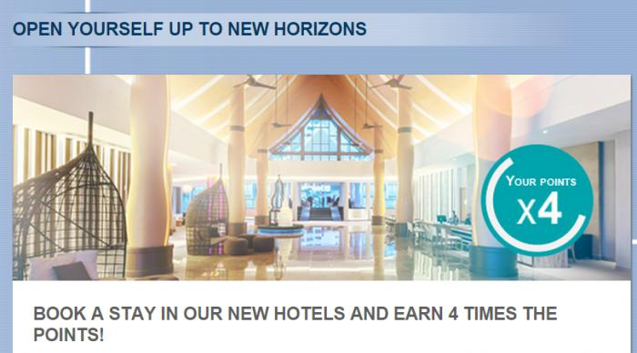 Le Club Accorhotels Quadruple Points New Hotels June 2015