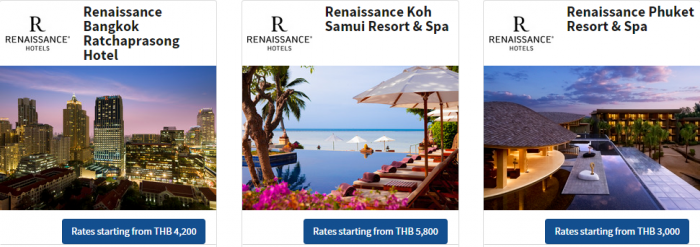Marriott Thailand 72-hour Flash Sale For Stays July 1 December 19 2015 Hotels 2