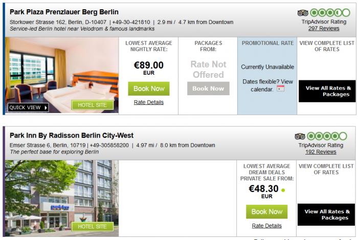 Radisson Blu Park Inn Plaza Quorvus Europe Middle East Africa 30 Percent Off Dreamdeals Summer 2015 Berlin 3