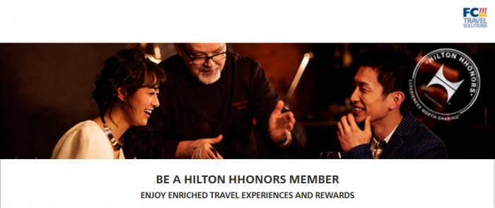 Hilton HHonors Flight Centre Gold Status Fast Track