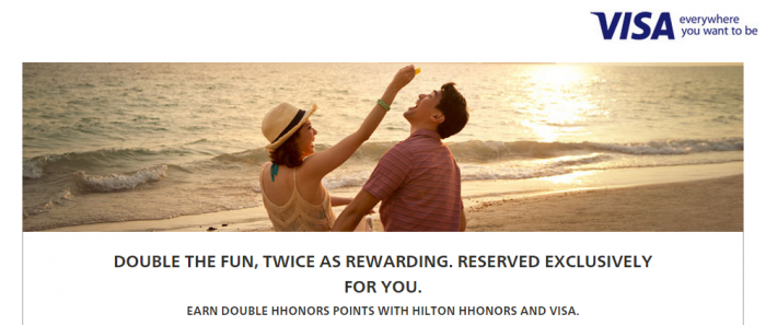 Hilton HHonors Visa Asia-Pacific Double Points 77 Properties August 1 October 31 2015