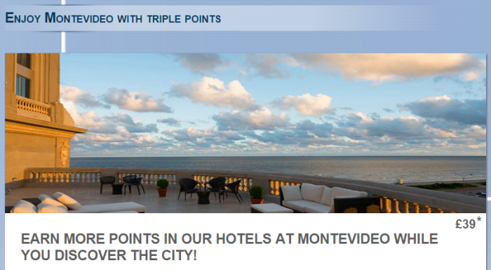 Le CLub Accorhotels Montevideo Triple Points July 1 August 31 2015