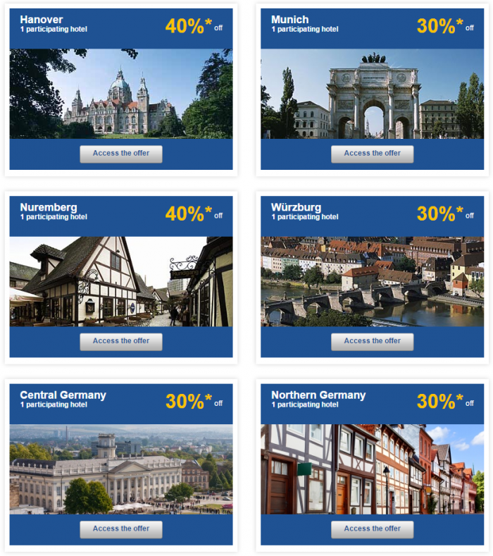 Le Club Accorhotels Europe Private Sales July 21 Germany 2