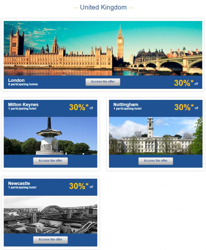 Le Club Accorhotels Europe Private Sales July 21 UK 1
