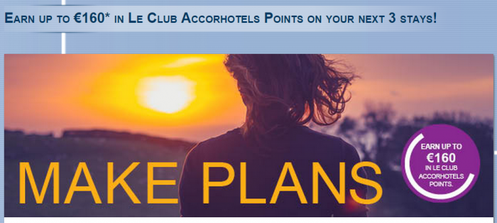 Le Club Accorhotels Up To 8.000 Bonus Points July 17 September 13 2015