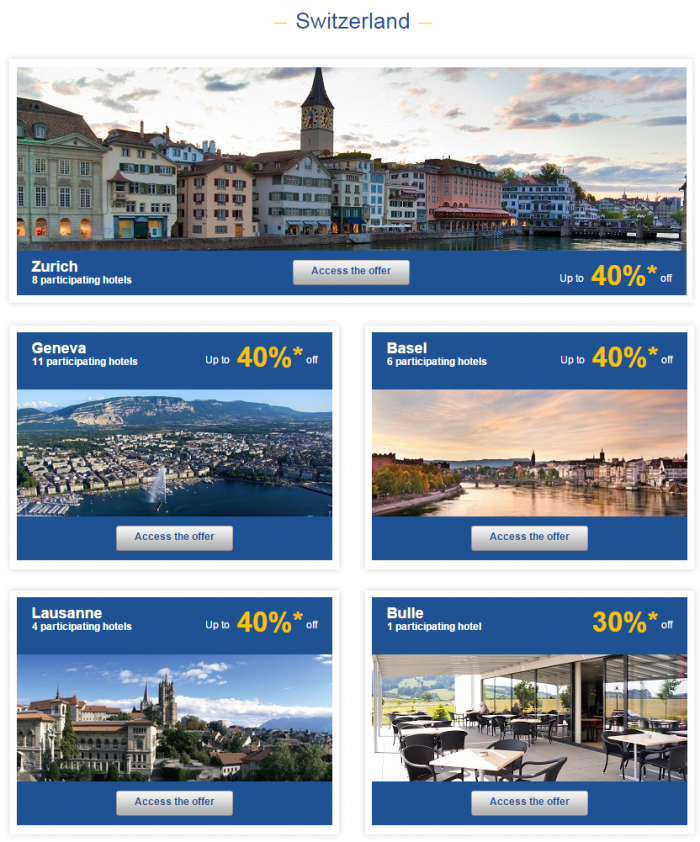 Le Club Accorhotels Europe Private Sales July 7 Switzerland 1