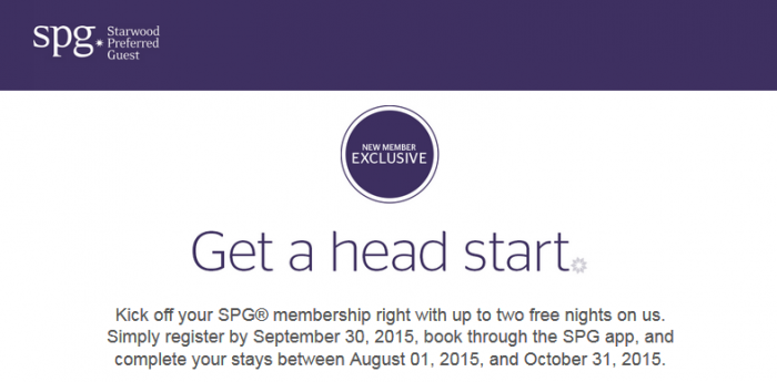 SPG Select Member Exclusive 6 U