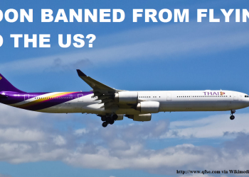 Thai Airways Soon Banned From Flying To The US