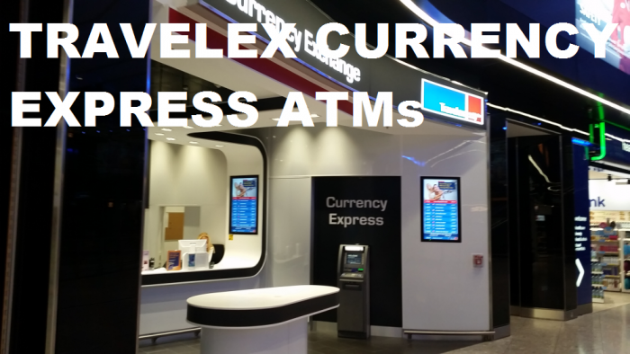 Travelex Currency Express Atms Dispensing Dollars Euros At London Heathrow Don T Use