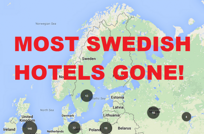 Accor Most Swedish Hotels Gone