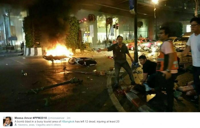 Bomb Blast Bangkok
