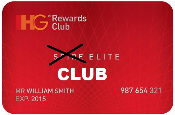 IHG Rewards Club Spire Elite Club Status Issue