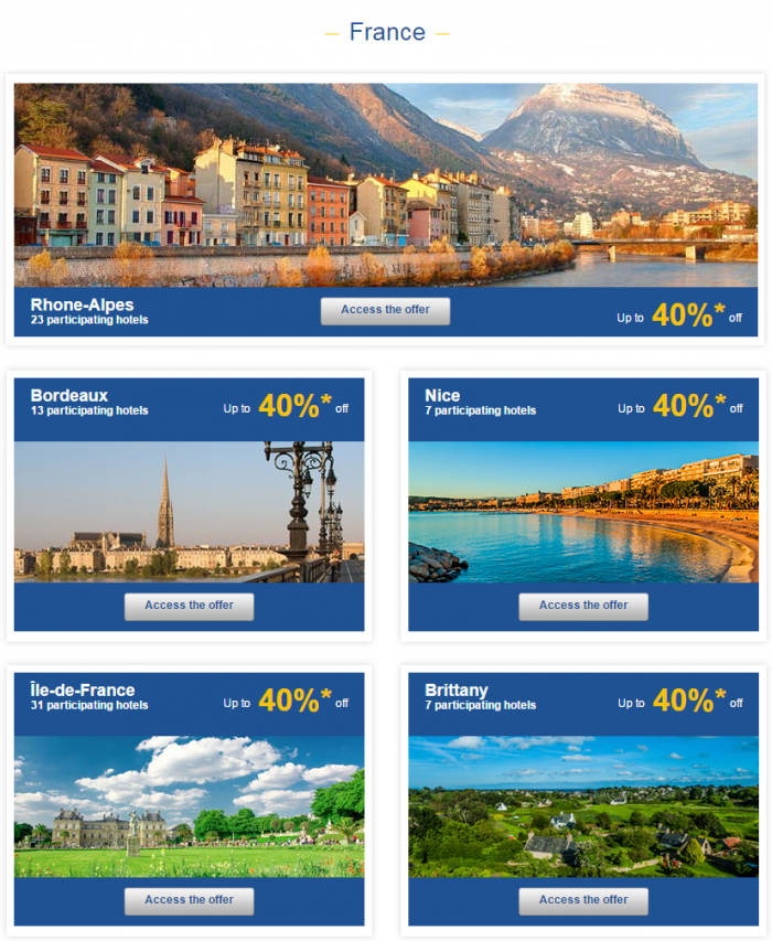 Le Club Accorhotels Europe Up To 50 Percent Off Private Sales France 1
