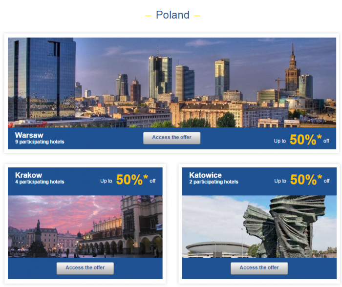 Le Club Accorhotels Europe Up To 50 Percent Off Private Sales Poland 1