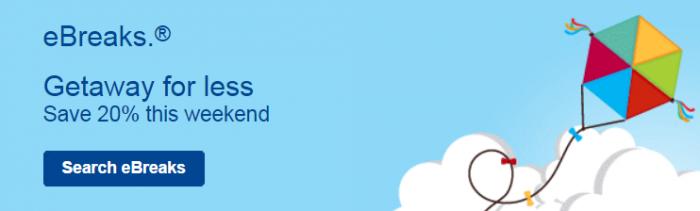 Marriott Rewards eBreaks August 6 - 9 2015