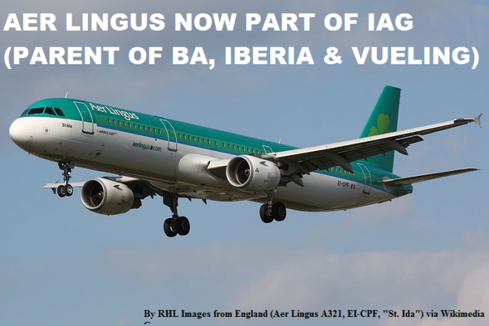 Aer Lingus Part Of IAG