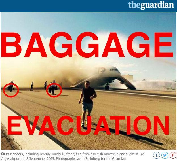 BA Baggage Evac