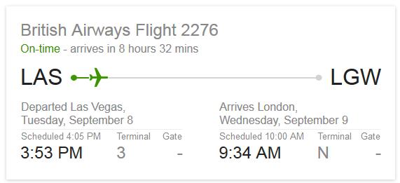 CNN BA2276 Google Flights
