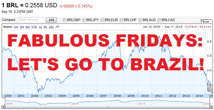 Fabulous Fridays Let's Go To Brazil!
