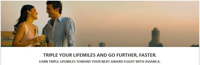 Hilton HHonors Triple Avianca LifeMiles September 1 December 31 2015