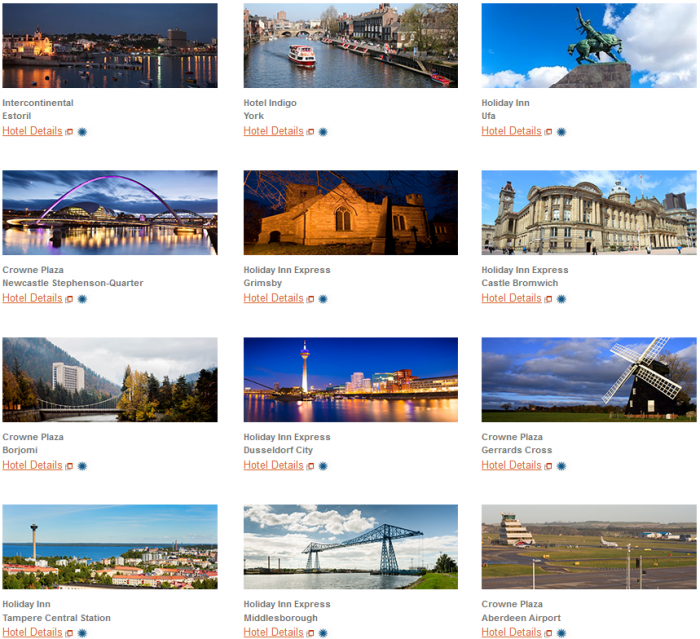 IHG Rewards Club New Hotels Introductory Offers September 2015 Hotels 1